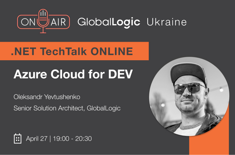 ".NET Online TechTalk ""Azure Cloud for DEV"""