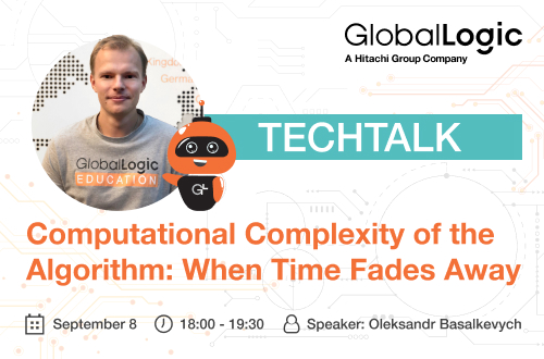 """""""Computational Complexity of the Algorithm: When Time Fades Away""""!"""