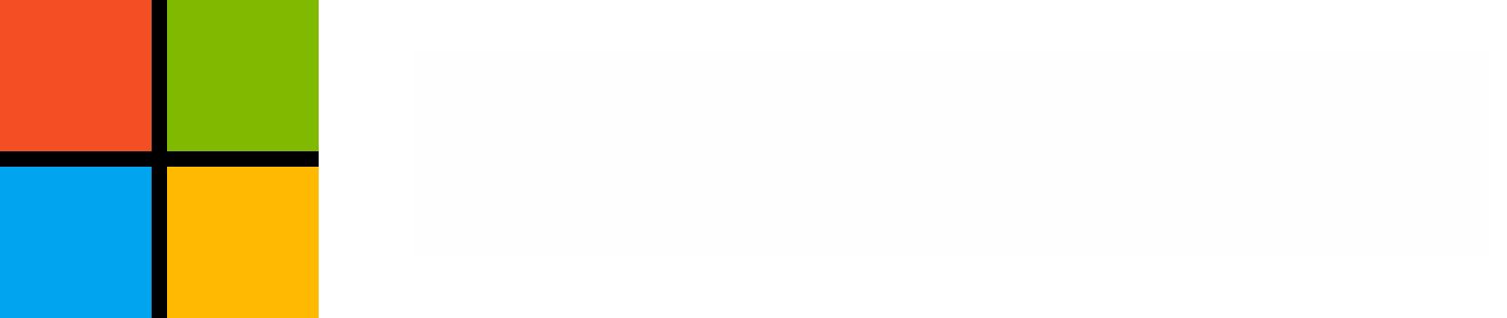Microsoft logo white text transparent 1