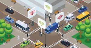 Smart car city