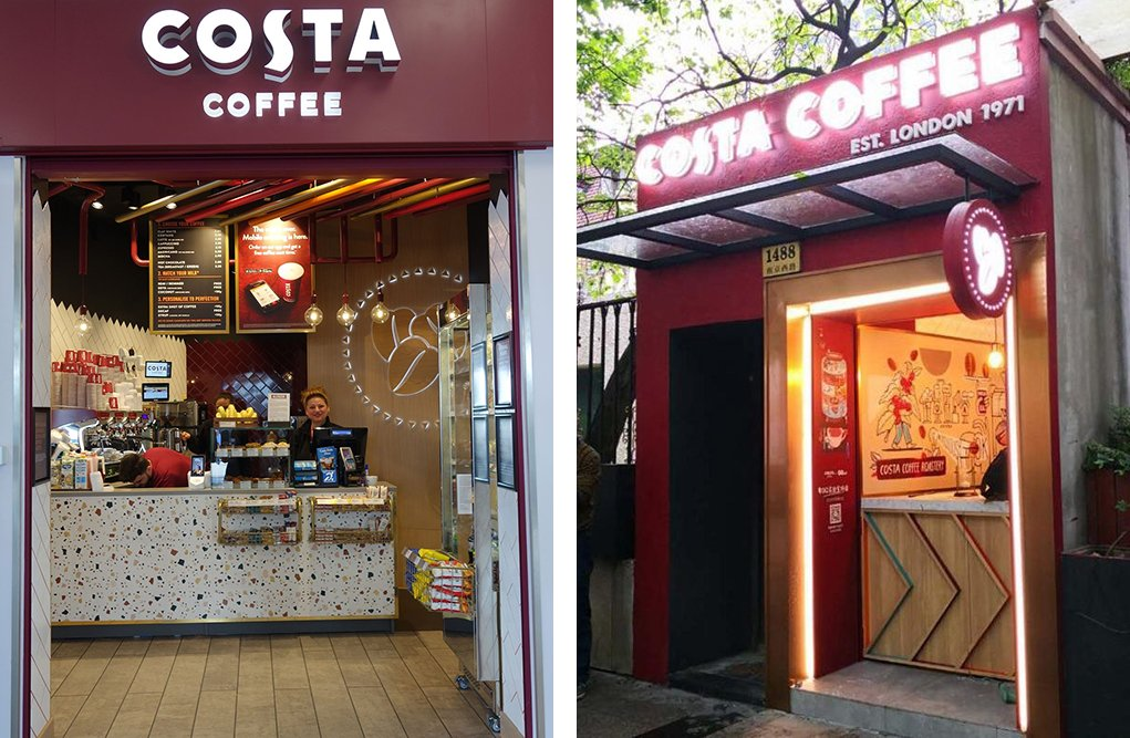 Costa coffee stores