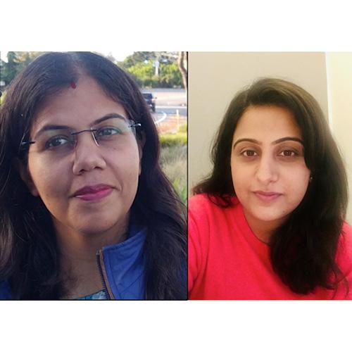 Neha Kukreja & Vinaya Sharma